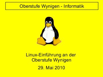 oberstufe-wynigen-linux