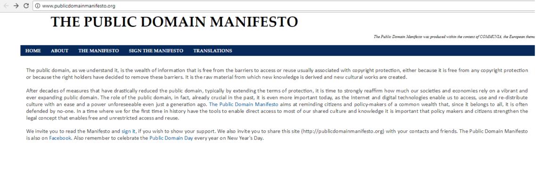 thepublicdomainmanifesto