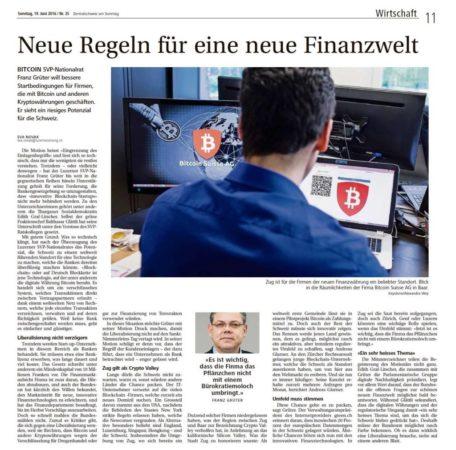 2016-06-19_zentralschweizamsonntag_blockchainmotion