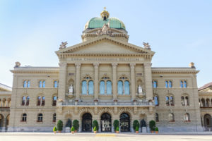 Federal Palace of Switzerland, Bern, capital city of Switzerland