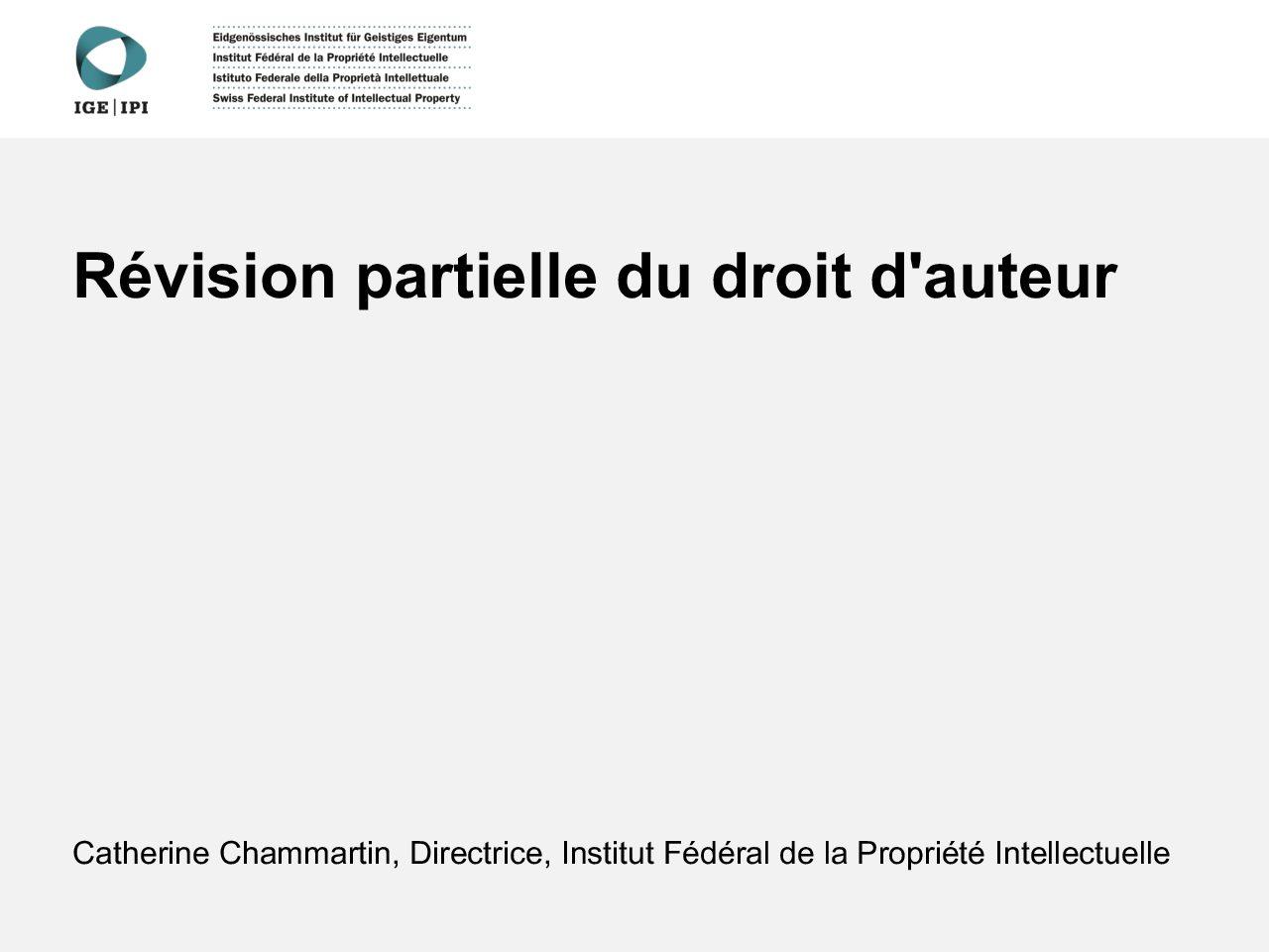 Parldigi présentation chc du 14.06.2018 révision LDA